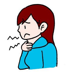 喉の違和感と咳や痰がでる原因と対処法!何科を受診する?