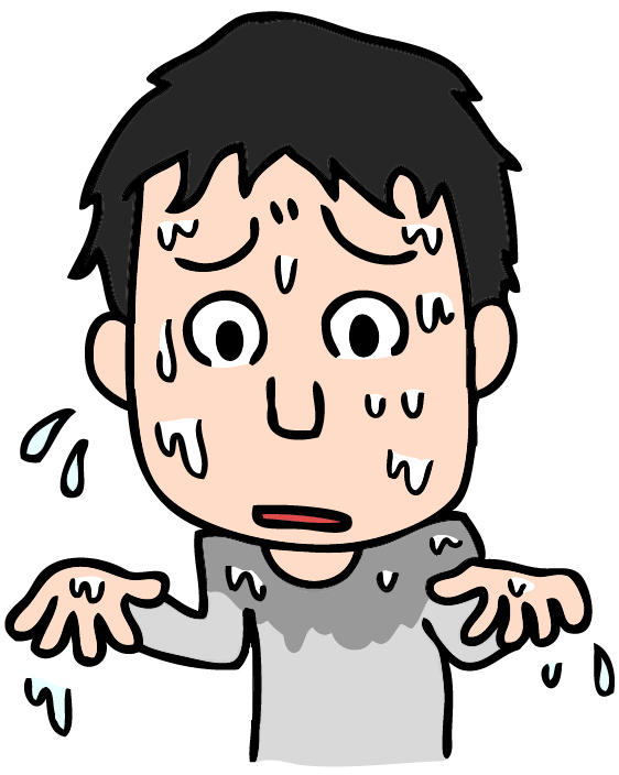精神性多汗症の症状とは?原因と対策も紹介!病院は何科へ行けばいい?