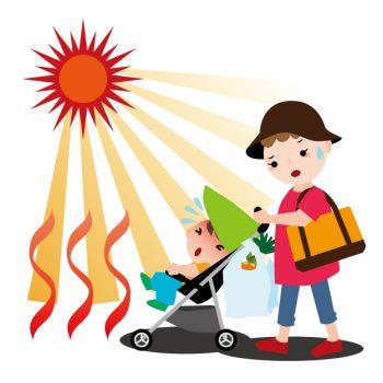 赤ちゃんの熱中症サインはコレ!対処法や予防法もあわせて紹介!