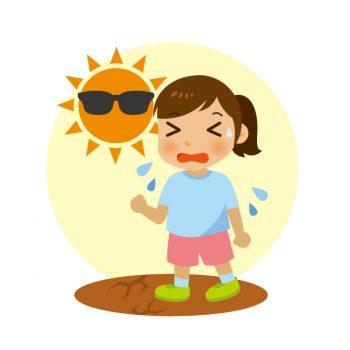 熱中症で子供にでる3つの症状と対処法!おススメの対策グッズも紹介