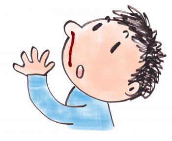 子供が鼻血を出す5つの原因と対処・予防法!正しい鼻血の止め方は?