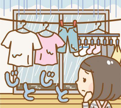 洗濯物の生乾きの臭いを消す裏ワザ4選!おススメの洗剤や物干も紹介