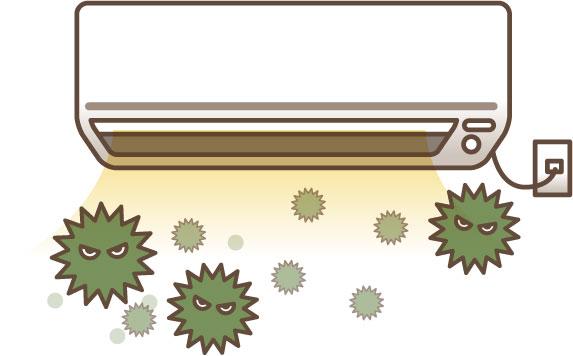 エアコンがカビ臭いときの対策はこれ!掃除方法まで徹底解説します!