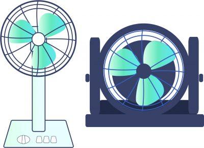 サーキュレーターと扇風機の違いとは?効率的な使い分けを徹底解説!